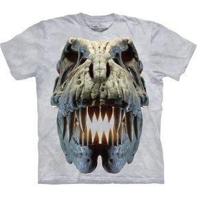 3D tričko Lebka Tyranosaurus Rex
