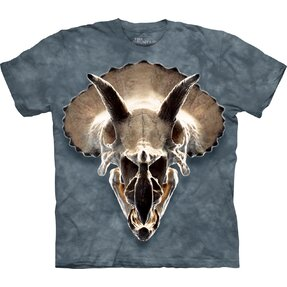 Tricou 3D Triceratops
