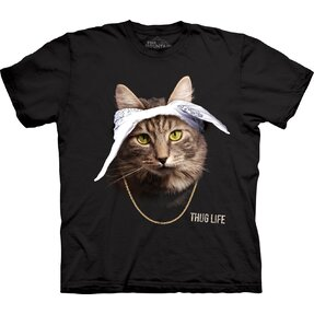 T-shirt with Short Sleeve Cat Tupaw