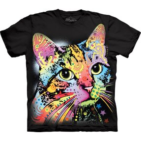 T-shirt with Short Sleeve Russo Cat Gaze