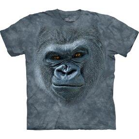 T-shirt 3D Muso di gorilla