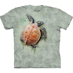 3D T-shirt Sea Turtle
