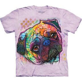 T-shirt with Short Sleeve Russo Pug