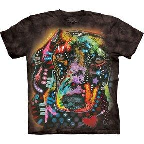 T-Shirt Kurzarm Russo Anblick des Dachshundes