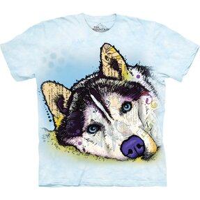 Tričko s krátkym rukávom Russo Sibírsky husky
