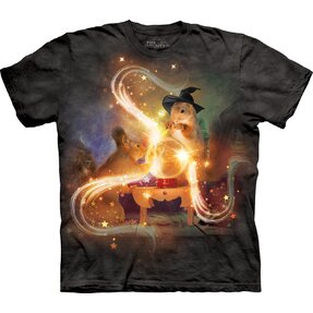 Kids' T-shirt with Short Sleeve Magic Squirrels