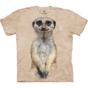 T-Shirt Kurzarm Anblick des Erdmännchens