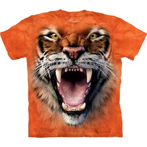 3D T-Shirt Tiger-Gebrüll