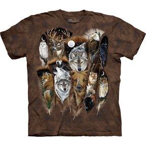 T-Shirt Tierfederchen