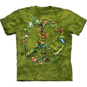 Tričko Mír z dešťového pralesa