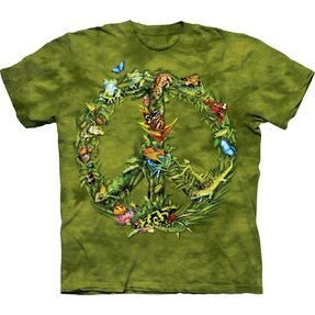 T-Shirt Frieden des Regenwaldes