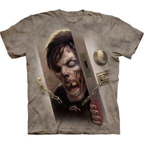 Tričko Zombie vo dverách