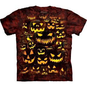 T-Shirt Gespenstische Kürbisse