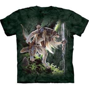 T-Shirt Wolf und Heiligwasser