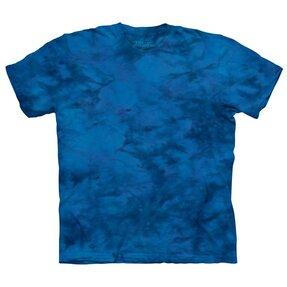 T-Shirt Blauer Strahl