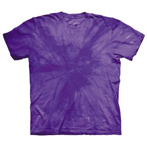 Spiral Purple Mottled Dye