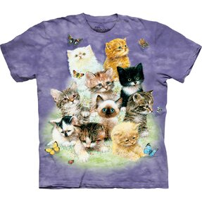 T-Shirt 10 Spielende Baby Kätzchen