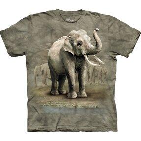 Tričko Asijští sloni