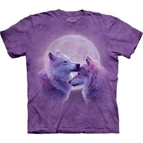 T-Shirt Liebevolle Wölfe