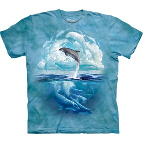 Tričko Obloha s delfínom