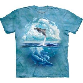 Tričko Obloha s delfínem