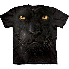 Tričko Tvár čierneho pantera