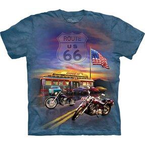 Tričko Route 66