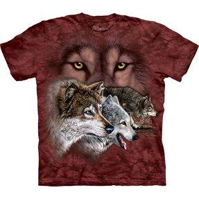Tričko Nájdi 9 vlkov