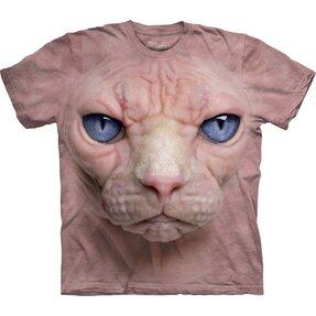 Csupasz macska arc