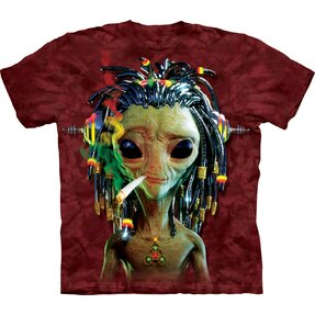 T-Shirt Rasta Alien