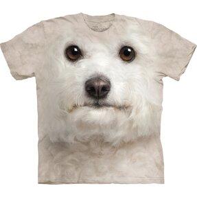 T-Shirt Bichon Frise Gesicht