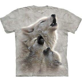 T-Shirt Tanz mit Wölfen