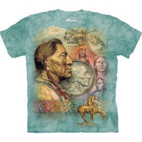 T-Shirt Frieden auf fünf Cent