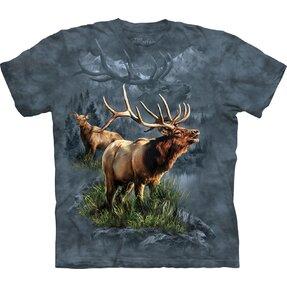 T-Shirt Hirsch als Behüter