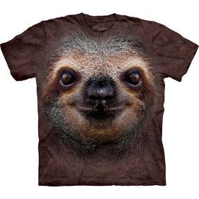 T-Shirt Faultier Gesicht