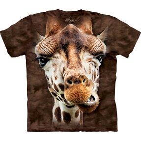 T-Shirt Giraffen Gesicht