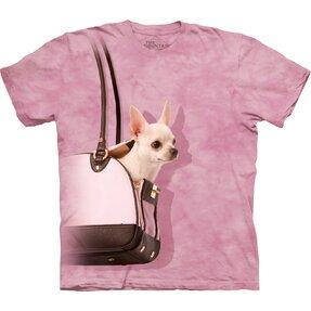 T-Shirt Chihuahua in der Handtasche