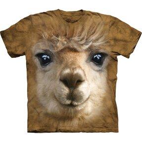 Tričko Tvár lamy alpaka