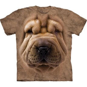 T-Shirt Gesicht Shar-Pei