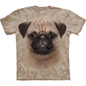 T-Shirt Mops Welpe
