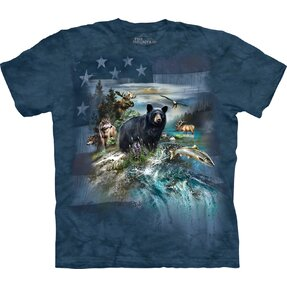 T-Shirt Tiere in Amerika