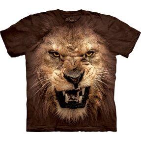 T-Shirt Wütender Löwe