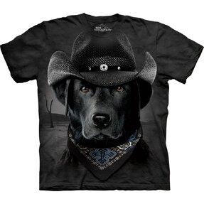 Tričko kovbojský labrador