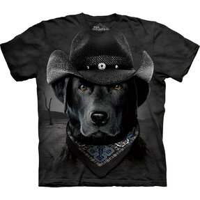 Cowboy labrador póló