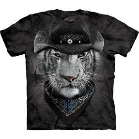 Tričko Kovbojský bílý tygr