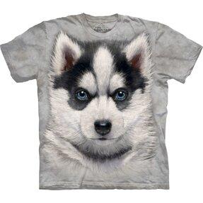 Tričko Sibírsky husky šteniatko