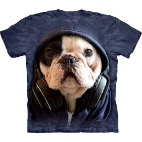 Tričko DJ Manny bulldog