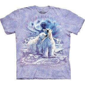 Tričko Nájdi 10 párov polárnych medveďov