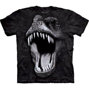 T-Shirt Leuchtender T-Rex