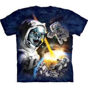 Tričko Kočky ve vesmíru